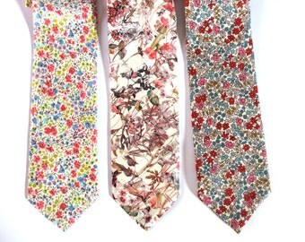 Neckties in Iconic Liberty Print fabric -click on link to take you to Liberty59