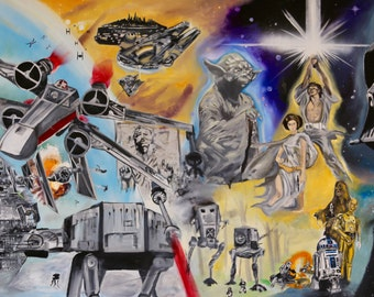 Canvas Transfer - Star Wars - Large 33in x 18in