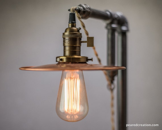 table lamp industrial edison bulb lamp lamp vintage industrial. Black Bedroom Furniture Sets. Home Design Ideas