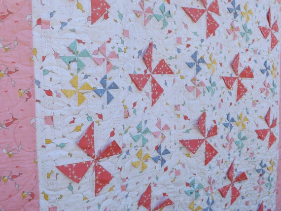 Kind-ly Pinwheels Quilt Pattern ~ PDF