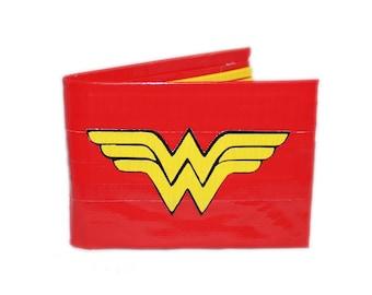 Wonder Woman Duct Tape Wallet