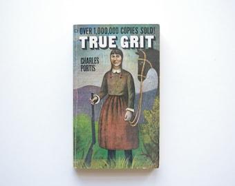 True Grit - Charles Portis - Vintage Paperback 1969