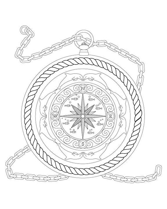 nautical coloring pages for adults - photo#10