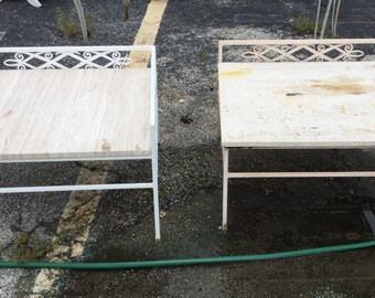 1950's Patio Tables or Benches