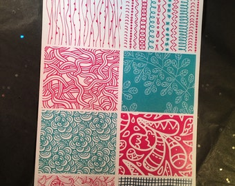Doddle Full Box Stickers || Sized for EC #85
