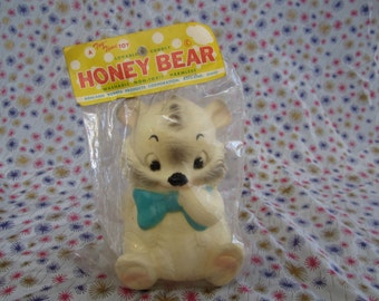 Edward Mobley, Ashland Rubber, Seated Pets, little bear mint in package