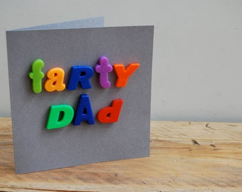 Farty Dad card - Father's day card