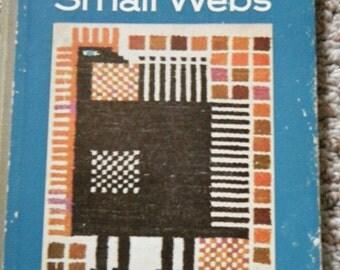 Book - Small Webs by Maja Lundback