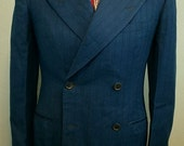 1930s double breasted 3-piece suit