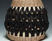 Walnut/black Penland Pottery Basket