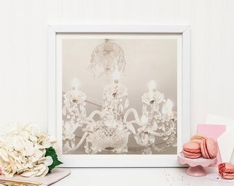 Chandelier print - Marie Antoinette print - French decor