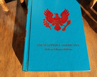 The Encyclopedia Americana,International Edition, dated 1992