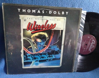"Vintage, Thomas Dolby - ""The Golden Age Of Wireless"", Vinyl LP, Record Album, Original First Press, She Blinded Me With Science"