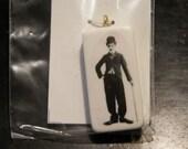 Domino Pendant - Charlie Chaplin