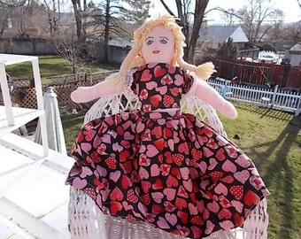 Little Red Riding Hood Topsy Turvey Doll,Doll,Cloth Doll,Vintage Doll,  :) Not Included in Discount Coupon Sale /  S