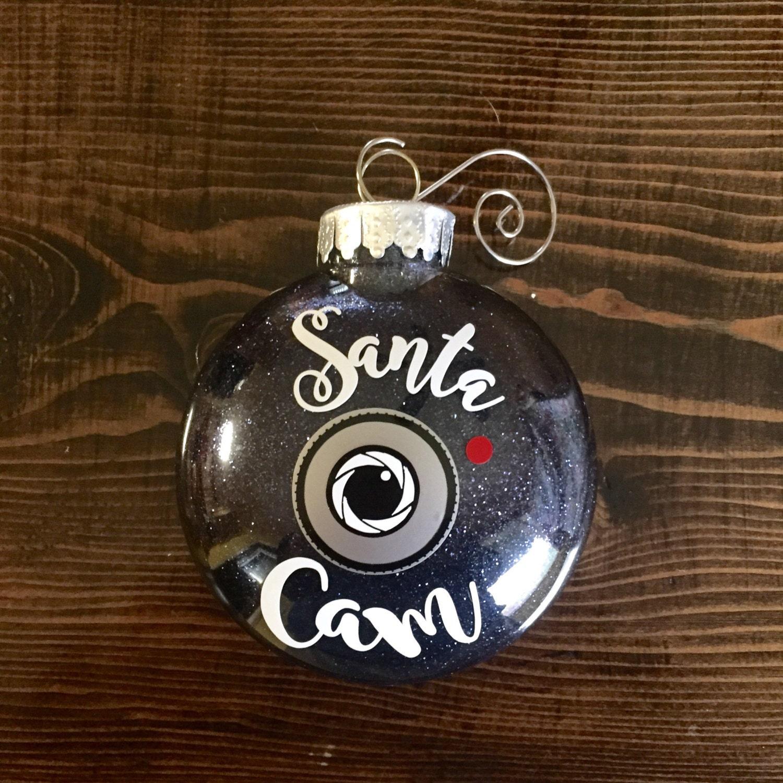 Camera christmas ornaments - Santa Cam Ornament Santa S Spy Camera Christmas Ornament Elf Cam