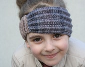 Knitting pattern - Cherise Warmer - Toddler, Child and Adult sizes - knit headband