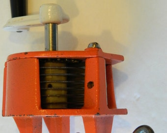 Green bean slicer, SCHULTE, French style beans, 1970s, Very Good Condition