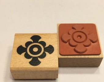 small design rubber stamp, 23 mm (F1)