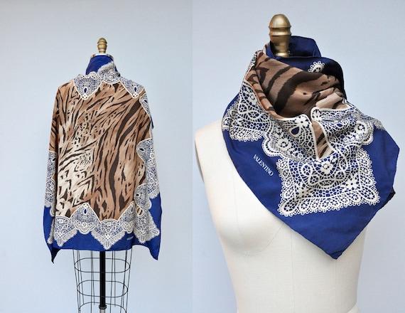 valentino silk scarf wrap shawl high end designer high