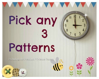 Pick any 3 patterns from Frocks & Frolics and SAVE!