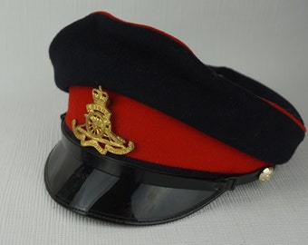 Royal Artillery Womens Cap Hat with Peaked Front No.1 Dress