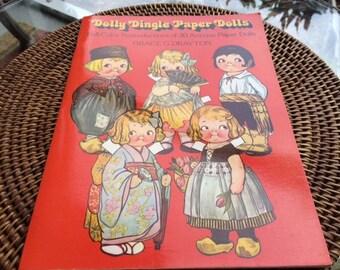 Vintage DOLLY DINGLE Paper Dolls,   Campbell's Soup Kids