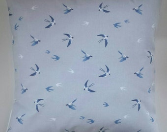 """Cushion Cover in Sophie Allport Swallows 14"""" 16"""" 18"""" 20"""""""