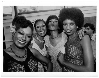 Pointer Sisters Publicity Photo 8 by 10 Inches