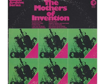VINYL: The Mothers Of Invention  Golden Archive Series