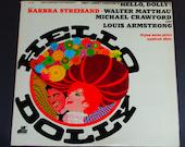 Hello Dolly - Original Motion Picture Soundtrack - Barbra Streisand - 20th Century Fox Records 1969 - Vintage Gatefold Vinyl LP Record Album