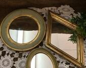 Three Florentine Mirror Set