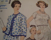 Vintage 1960's Vogue 4096 Special Design Suit and Blouse Sewing Pattern, Size 14, Bust 34