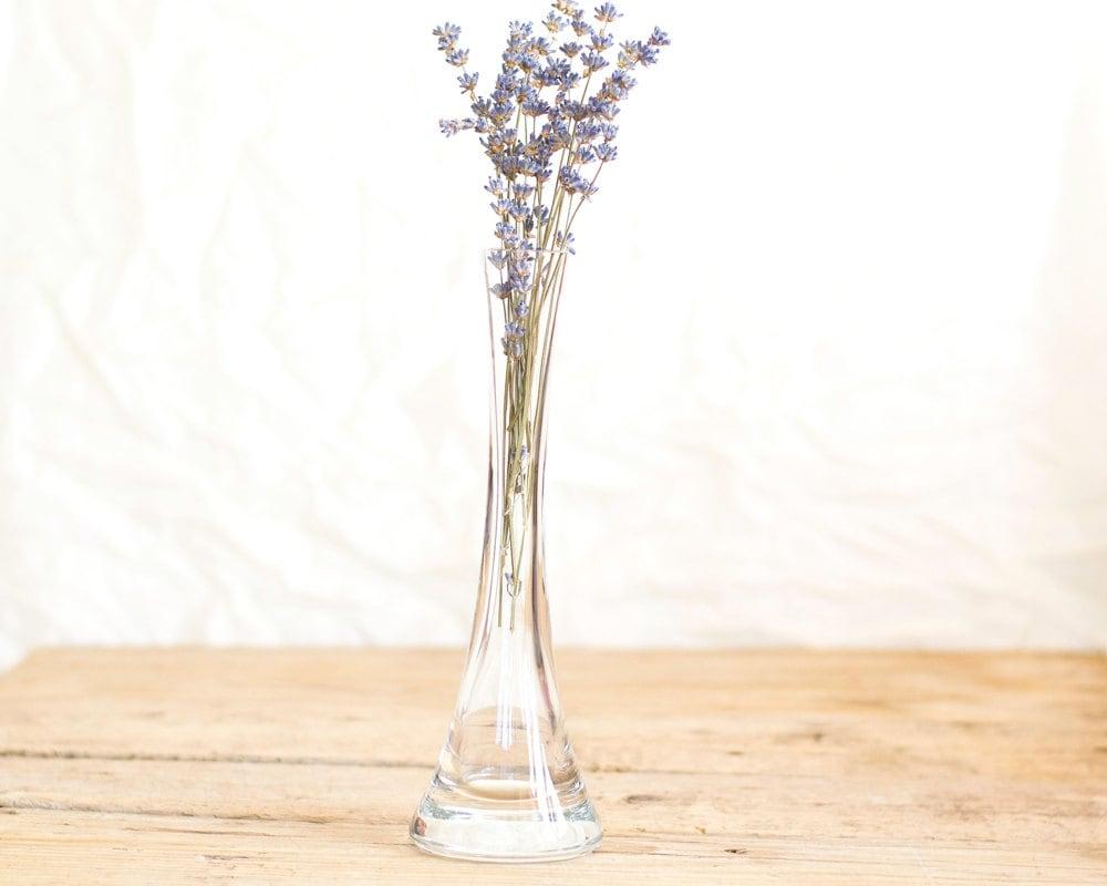 Vintage Clea... Decorative Clear Glass Vases