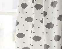 """Gray Cloud Cotton Fabric - 62"""" Wide - By the Yard S"""