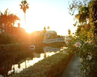 Venice Canals Morning - Photo Print - Size 8x10, 5x7, or 4x6