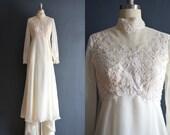 Neila / 70s wedding dress / 1970s wedding dress