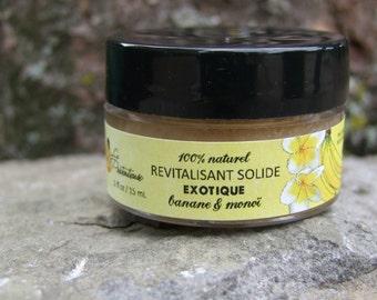 Natural exotic banana monoï untangling conditioner bar 20 grams