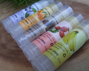 Nourishing and moisturizing strawberry lip balm 4 grams