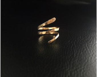 Gold Snake Ring, Snake Ring Gold, Snake Jewelry, Serpent Jewelry, Serpent Ring, Gold Serpent Ring