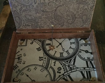 Steampunk jewelry/Stash box