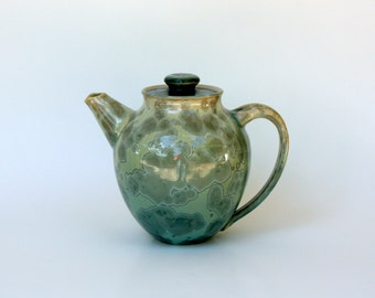 Aqua Crystalline Teapot