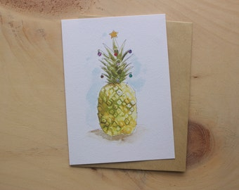 Pine-apple Tree Greeting Card