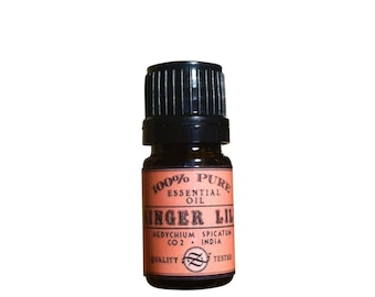 Ginger Lily Essential Oil, Hedychium spicatum, CO2 Extract, India- 5 ml