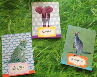 Post card Wild animals