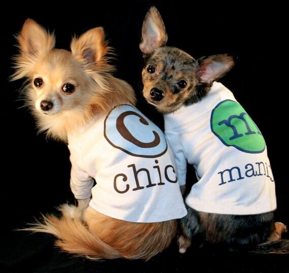 Dog Tshirt Personalized Custom Name Initial Puppy Dog Pet Tee T Shirt