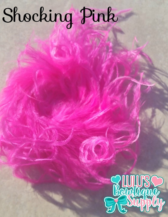 Curly Ostrich Puffs Shocking Full Fluffy High Quality