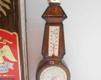 Vintage 1970s Avon Weather Or-Not Thermometer After Shave Decanter (6) Empty