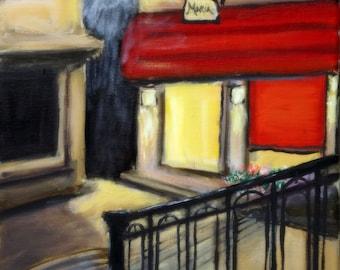Casa Maria Venice Street at Midnight