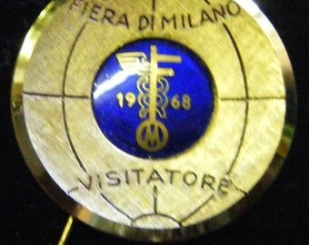 25% Off Storewide Sale 1968 Visitors Pin Commemorative